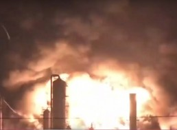 Philadelphia Oil Refinery Explosion Was So Massive, It Was Seen from Space