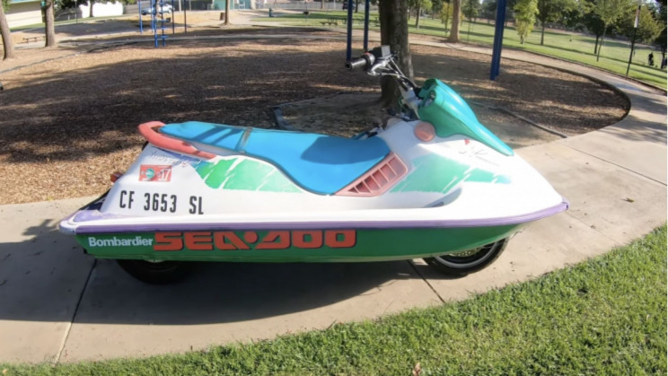 Jet Skis Are Being Converted Into Motorcycles Because, Why Not?