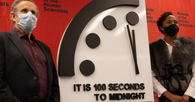 Doomsday Clock Says We're 100 Seconds Away from Midnight