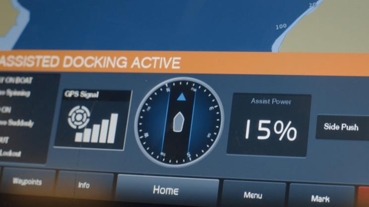 Volvo Penta Unveils Assisted Docking Boat System