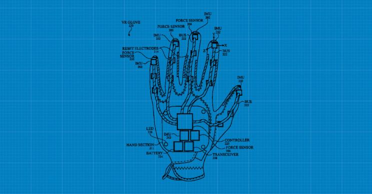 Apple Granted Patent for VR Glove That Senses Each Finger's Movement