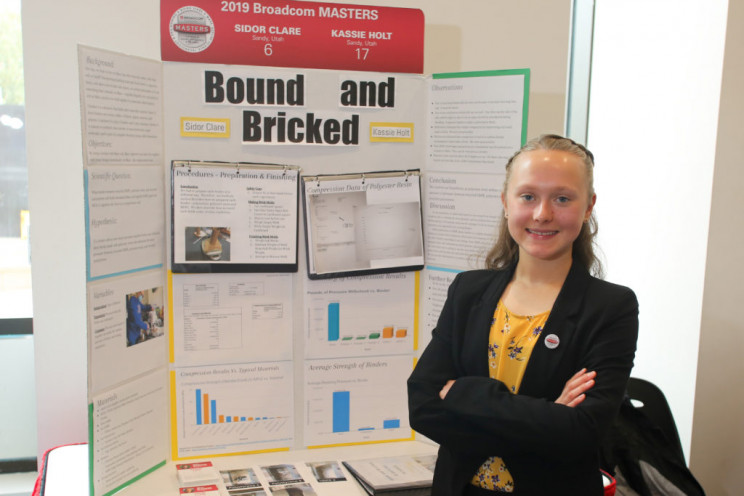 Girls Take Home All Five Top Awards in National STEM Contest for Middle Schoolers