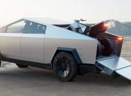 But Wait, There's More: Tesla Also Unveiled Their All-Electric ATV at Their Cybertruck Launch