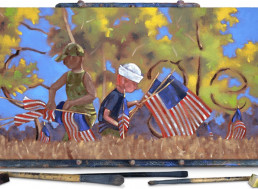 Inspirational Veterans Day Google Doodle Painted by Injured Iraq War Vet