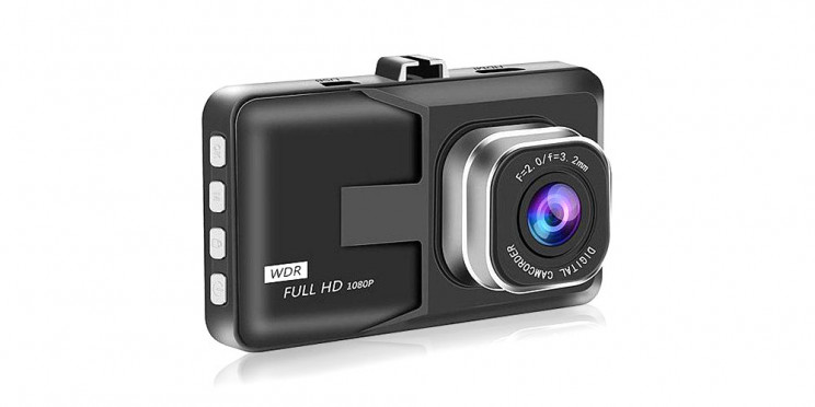 This Black Box 1080p Dash Cam Is on Sale for $30 Today