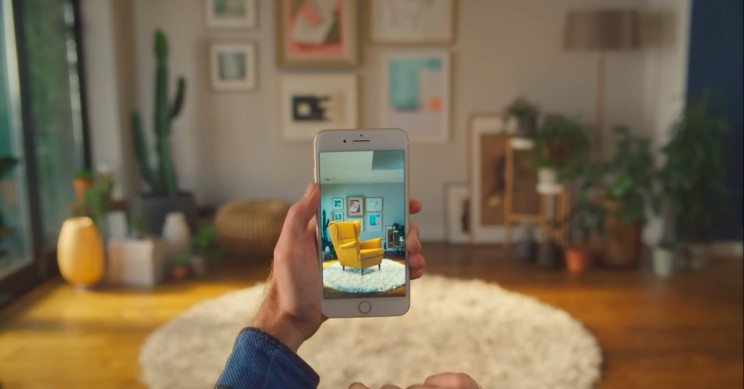 IKEA Shifts Emphasis to AR App, Downtown Stores