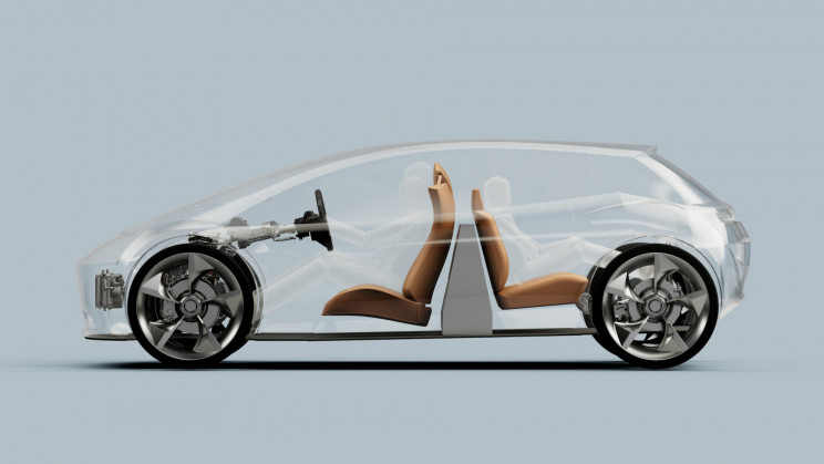 Vertical Battery EV Concept Boosts Range by up to 30%