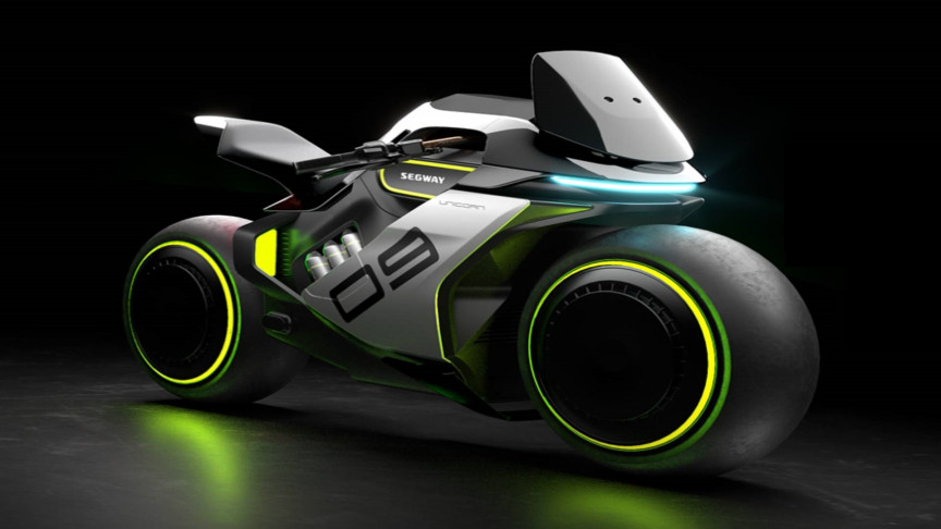 Segway Set to Roll Out Tron-Inspired Hydrogen-Powered Motorcycles