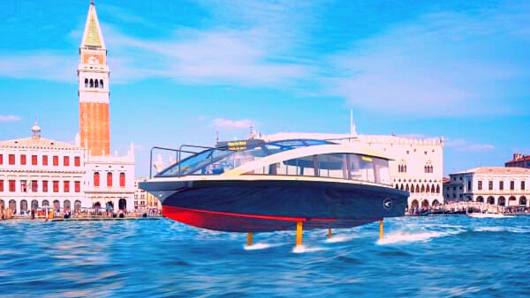 Venice Is Sinking. Here's How 'Flying' Electric Boats Can Save It