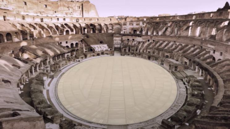 Rome's Colosseum Will Get a New High-Tech Floor Design