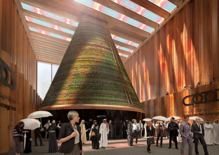 Stained Glass-Style Solar Panels to Top Dutch Pavilion at Dubai Expo 2020