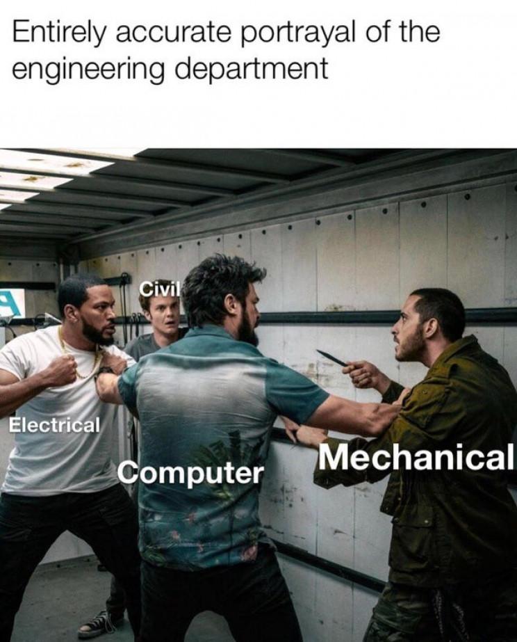 best engineering meme 2019 rivalry