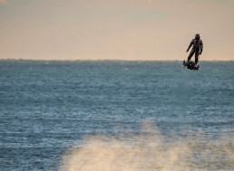 Inventor Franky Zapata's Mission to Fly over the Channel on Flyboard Fails