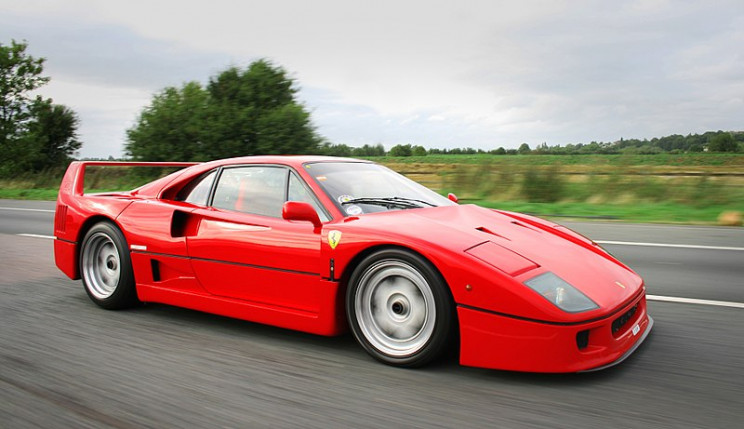 facts about Ferrari F40