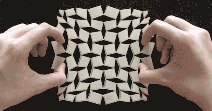 Mathematics Applied to Kirigami Creates Impressive Shapeshifting Sheets