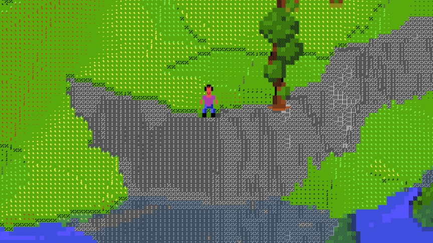 Check out This Impressive 3D Online Game, Fully Made in ASCII