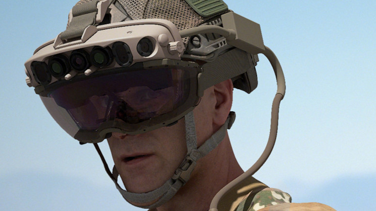 Microsoft Wins $21.9 Billion Deal To Build Army AR Headsets