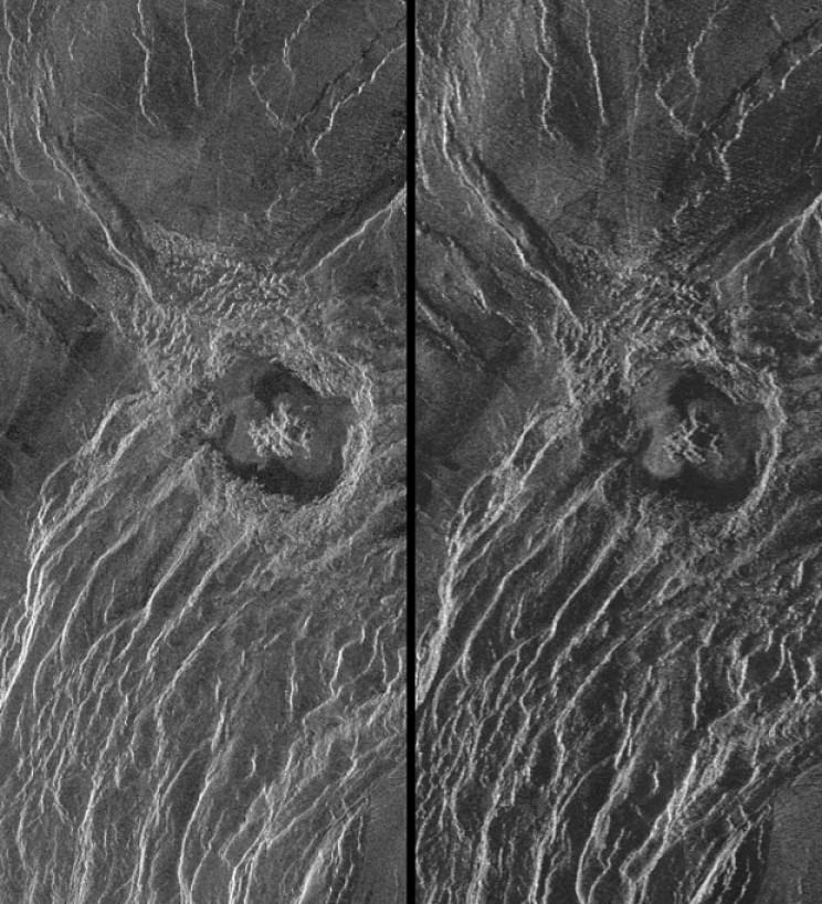Venusian Crater Maria Goeppert-Mayer