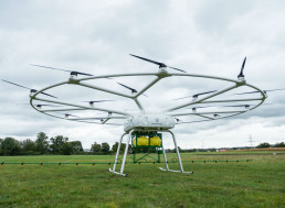 John Deere Teams with Startup to Develop a Cropdusting Drone
