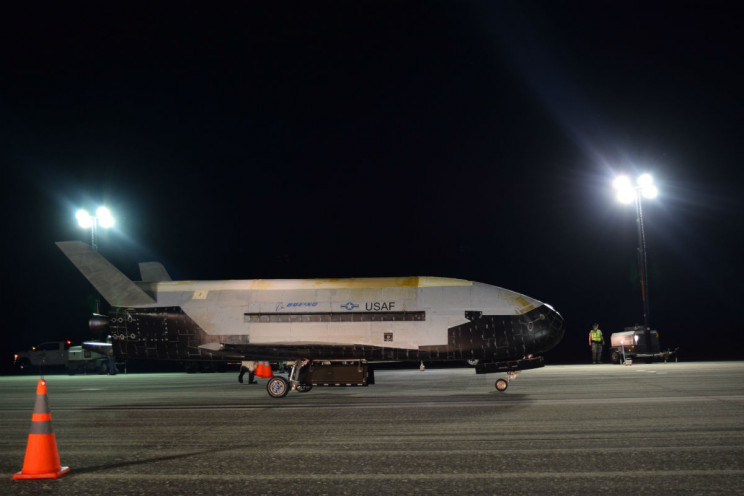 The Air Force's Secretive Space Plane Lands After 780 Days in Orbit