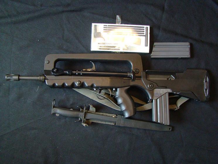 Best Military Rifles FAMAS