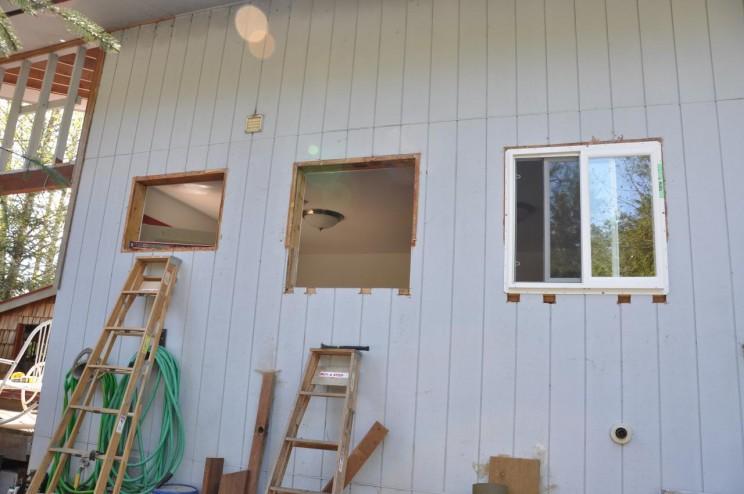 Replacing windows to reduce heat loss