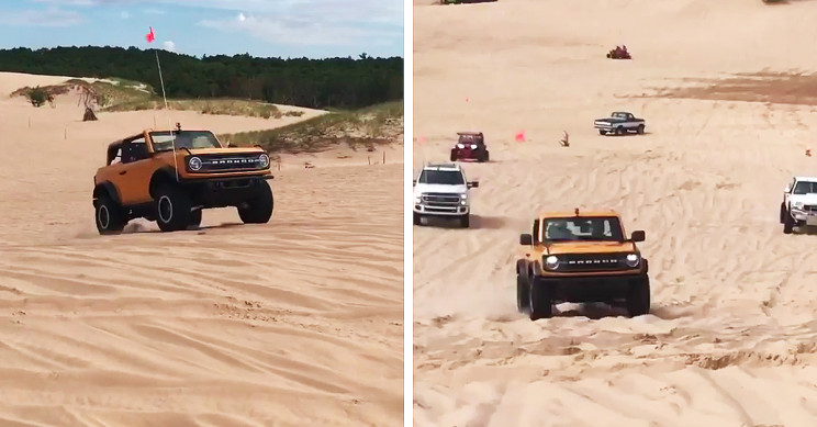 First Footage of Resurrected Ford Bronco Taking On Sand Dunes is Out