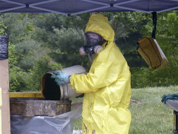 hazardous waste ppe