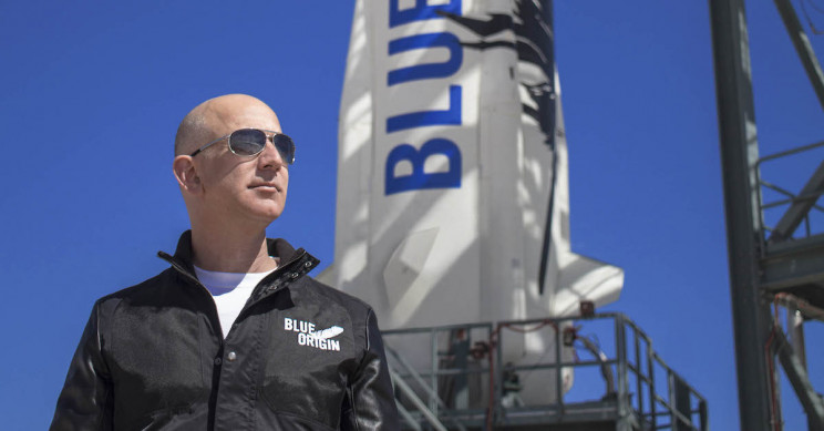 Jeff Bezos Sold $1.8 Billion of Amazon Stock to Fund Space Venture