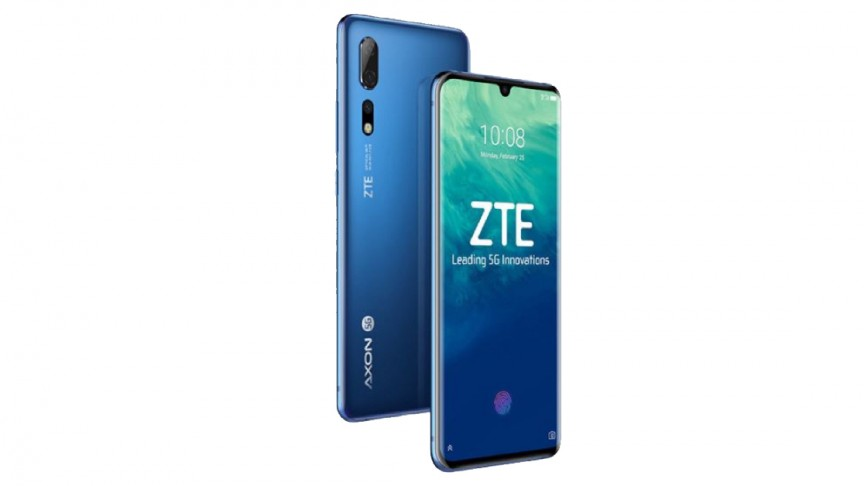 ZTE to Launch Axon 10 Pro 5G, the World's First Smartphone