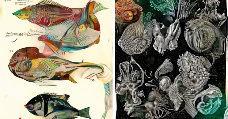 'Neural Zoo' AI Creates Distorted Drawings of Wildlife