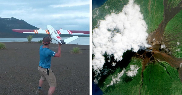 Scientists Are Flying Drones Into Active Volcanoes for Science