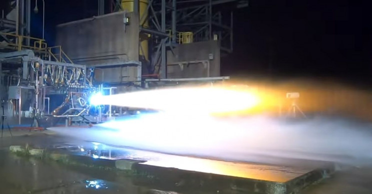 Jeff Bezos' Blue Origin Tests Engine That Will Take Astronauts Back to the Moon