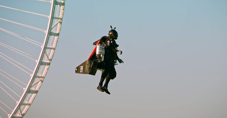 'Jetman' Vincent Reffet Dies during Training Accident