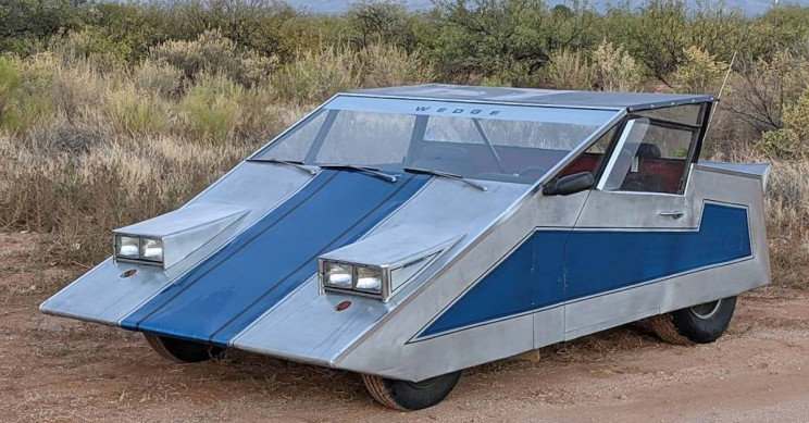 This Wedge Custom Car Looks Straight Out of 70s Sci-Fi