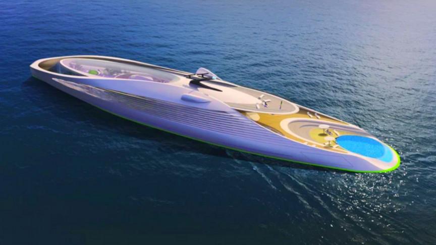 New Zero-Carbon Superyacht Comes With a Solar Power Garden