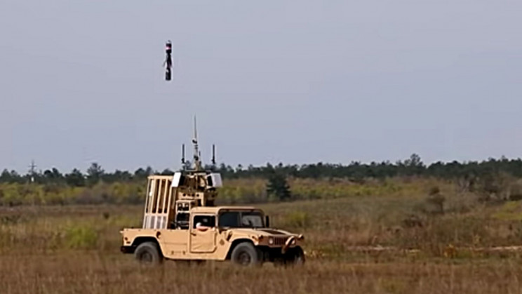 Watch DARPA's New System Shoot Streamers to Counter Drones