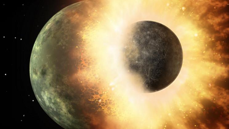An Alien World Got Lodged Inside Our Planet 4.5 Billion Years Ago