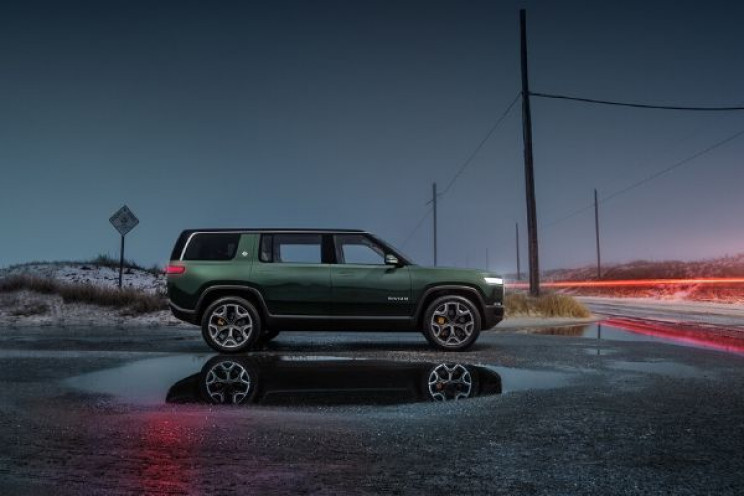 Electric Truckmaker Rivian Announces $1.3 Billion Funding Round Backed by Amazon and Ford