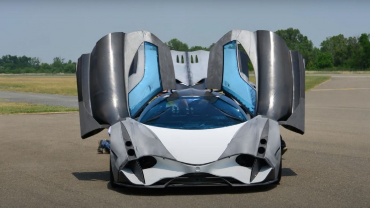 5,000-HP Devel Sixteen Hypercar's Test Footage Is Finally Here