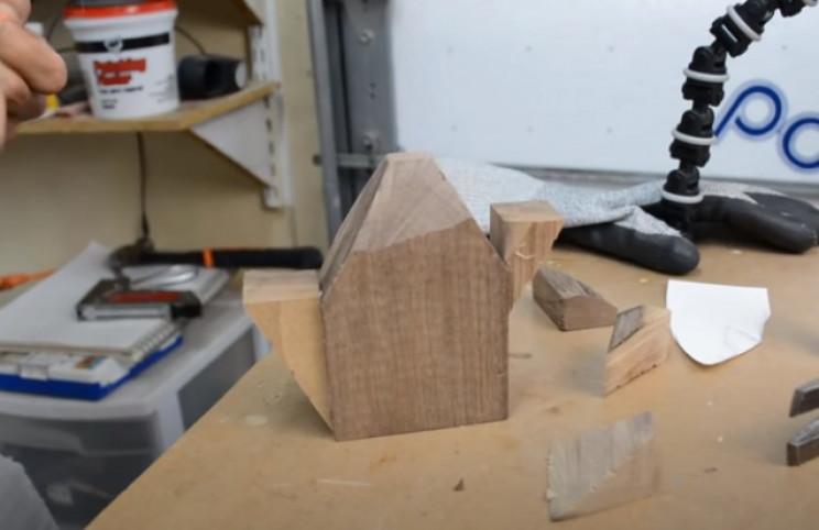 power carve shark head glue wedges