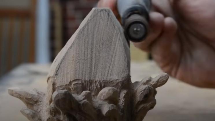 power carve shark's head carve head