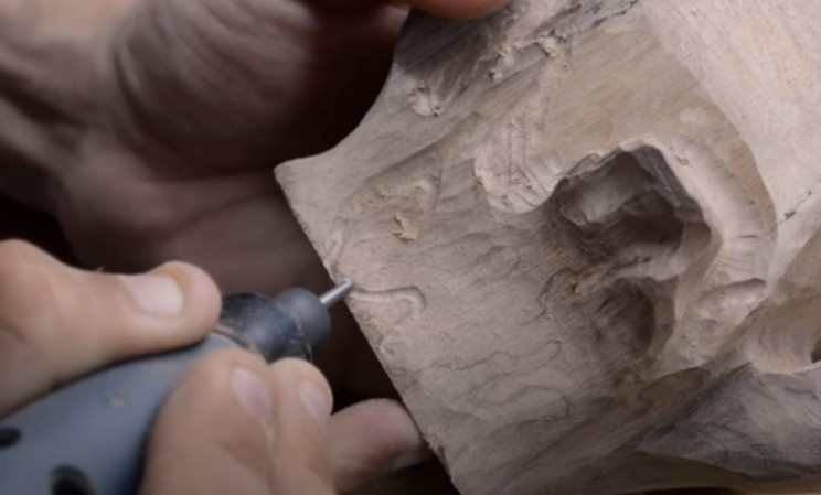 power carve shark head wavy effect