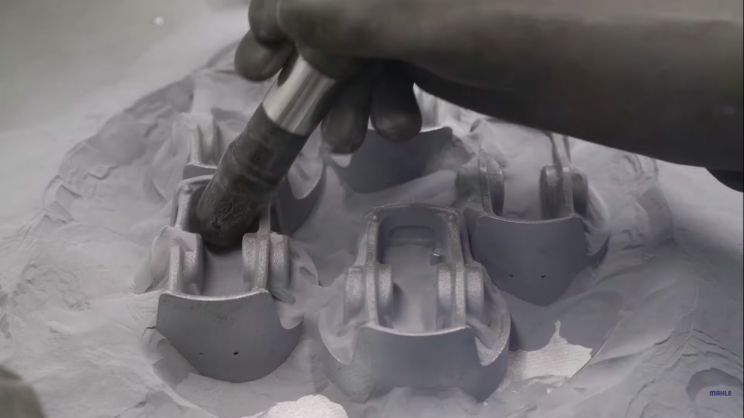 Porsche's 3D-Printed Lightweight Pistons Could Add 30 HP to 911 GT2 RS