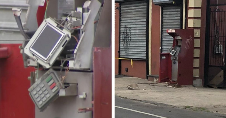 Man Dies after Blowing Up an ATM
