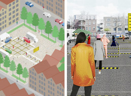 Architects Create Market Design That Ensures Physical Distancing During Lockdowns