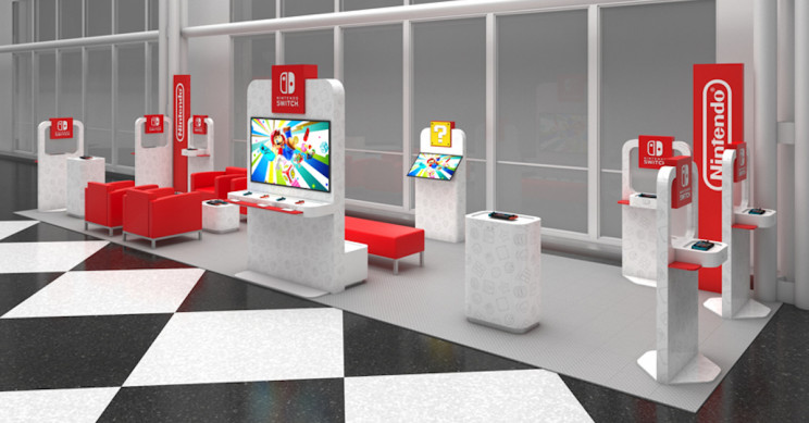 "Nintendo to Offer ""On the Go"" Pop-Up Gaming Lounges at Select Airports"
