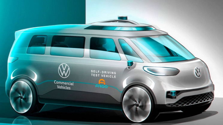 Volkswagen To Test Self-Driving System for Its Upcoming Electric ID. BUZZ Van