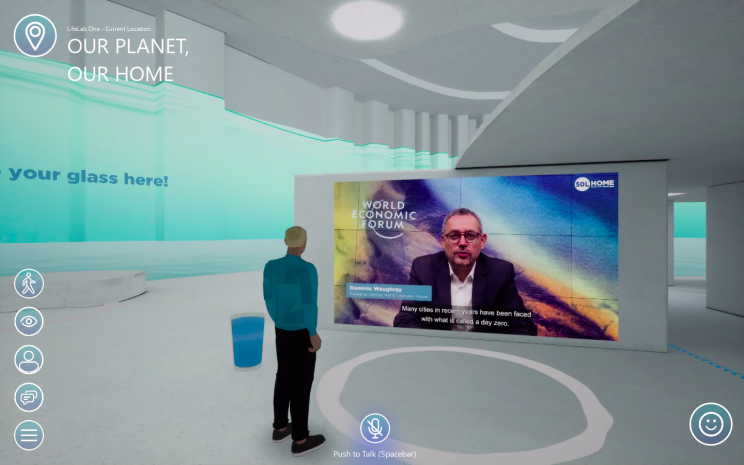 P&G Built a Cool Virtual CES 2021 Exhibit Complete with Avatars