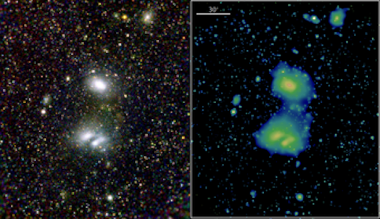 German X-Ray Telescope Snaps Its First Striking Images of the Universe